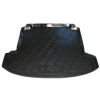 Коврик в багажник для Volkswagen Polo '10- седан, резино/пластиковый (Lada Locker)