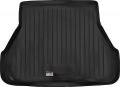 Коврик в багажник для ЗАЗ Славута '99-11, резино/пластиковый (Lada Locker)