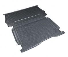 Коврик в багажник для Peugeot Partner '08-12, грузовой, полиуретановый (NorPlast) черный