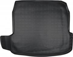 Коврик в багажник для Audi A8 '10-17, полиуретановый (NorPlast) черный