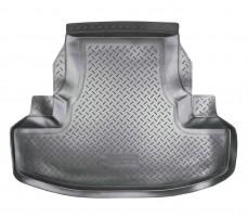 Коврик в багажник для Honda Accord 8 '08-13 седан, полиуретановый (NorPlast) черный