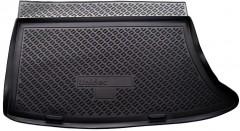 Коврик в багажник для Hyundai i30 FD '07-12 хетчбэк, полиуретановый (NorPlast) черный