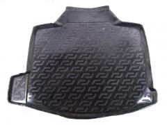 Коврик в багажник для Chevrolet Malibu '12-, резино/пластиковый (Lada Locker)