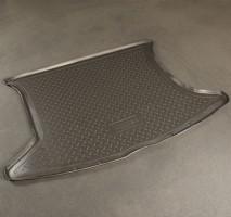 Коврик в багажник для Toyota Verso '09-, полиуретановый (NorPlast) черный