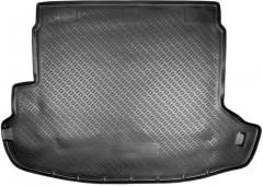 Коврик в багажник для Nissan X-Trail '08-15 (с органайзером), полиуретановый (Norplast)