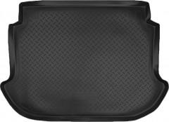Коврик в багажник для Nissan Murano '03-08, резино/пластиковый, чёрный (Nor-Plast)