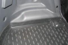 Фото 3 - Коврик в багажник для Chery Kimo '07-, полиуретановый (Novline / Element) черный