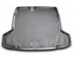 Коврик в багажник для Peugeot 508 '11- седан, полиуретановый (Novline / Element) черный