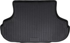 Коврик в багажник для Hyundai Sonata '01-05, полиуретановый (Novline) черный