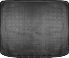 Коврик в багажник для Nissan X-Trail '08-15 (без органайзера), резино/пластиковый (Norplast)