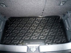 Коврик в багажник для Suzuki Swift '05-09 (нижний), резиновый (Lada Locker)