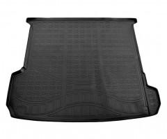 Коврик в багажник для Audi Q7 '15-, длинный, полиуретановый (NorPlast)