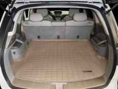 Коврик в багажник для Acura MDX '06-13, резиновый (WeatherTech) бежевый