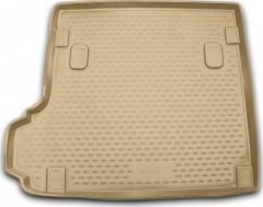 Коврик в багажник для BMW X3 E83 '03-09, полиуретановый (Novline / Element) бежевый