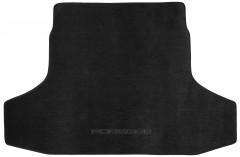 Коврик в багажник для Porsche Panamera '10-, текстильный черный