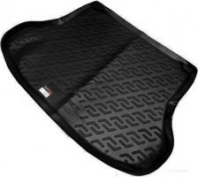 Коврик в багажник для Nissan Tiida '05-14 седан, резино/пластиковый (Lada Locker)