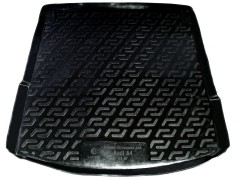 Коврик в багажник для Audi A4 '00-08 седан, резиновый (Lada Locker)
