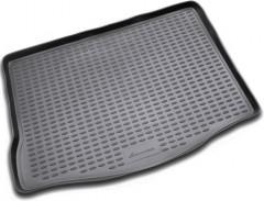 Коврик в багажник для Ford Focus 2 (II) '04-11 хетчбэк, полиуретановый (Novline / Element) черный