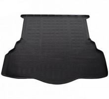 Коврик в багажник для Ford Mondeo '15-, седан, полиуретановый черный (Nor-Plast)