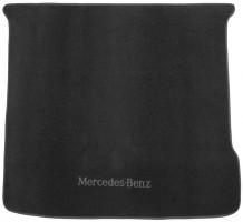 Коврик в багажник для Mercedes ML-Class/GLE W166 '11-18, текстильный черный