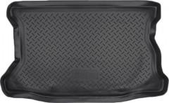 Коврик в багажник для Honda Jazz '03-08, полиуретановый (NorPlast) черный