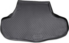 Коврик в багажник для Infiniti M '06-10, полиуретановый (Novline / Element) черный