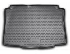 Коврик в багажник для Seat Ibiza '08- хэтчбек, полиуретановый (Novline / Element) черный