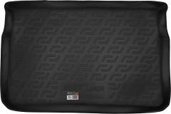 Коврик в багажник для Peugeot 208 '12-, резино/пластиковый (Lada Locker)