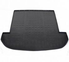 Коврик в багажник для Kia Sorento '15- (7 мест), полиуретановый черный (Nor-Plast)