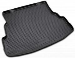 Коврик в багажник для Renault Symbol '08-12 седан, полиуретановый (Novline / Element) черный