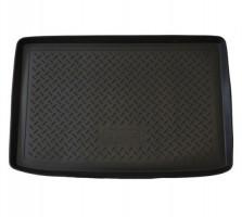 Коврик в багажник для Renault Clio '01-06 хетчбэк, полиуретановый (NorPlast) черный