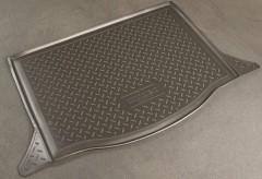 Коврик в багажник для Honda Jazz '09-14 полиуретановый (NorPlast) черный