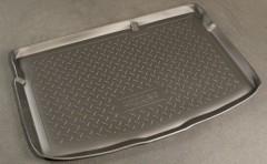 Коврик в багажник для Mazda 2 '07-14, полиуретановый (NorPlast) черный