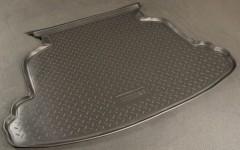 Коврик в багажник для Toyota Corolla '02-07 седан, полиуретановый (NorPlast) черный