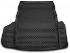 Novline Коврик в багажник для BMW 5 E60 '03-10 седан, полиуретановый (Novline) черный
