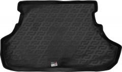 Коврик в багажник для Mitsubishi Lancer X '07- седан, резино/пластиковый (Lada Locker)