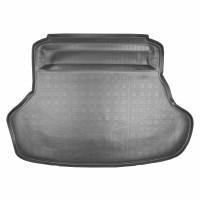 Коврик в багажник для Lexus ES '12-, полиуретановый черный (Nor-Plast)