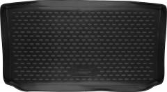 Коврик в багажник для Chevrolet Spark '11-, полиуретановый (Novline / Element) черный