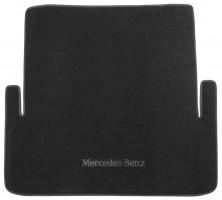 Коврик в багажник для Mercedes S-Class W221 '06-13, текстильный черный