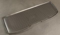 Коврик в багажник для Honda Pilot '08- (короткий), полиуретановый (NorPlast) черный