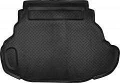 Коврик в багажник для Toyota Camry V50/55 2011 - 2017 (3.5L), полиуретановый (NorPlast) черный