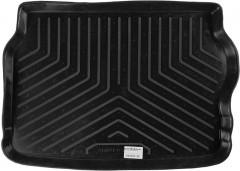 Коврик в багажник для Opel Astra G '98-10, хетчбэк, резино/пластиковый (Norplast)