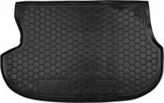 Коврик в багажник для Mitsubishi Outlander '03-07, резиновый (AVTO-Gumm)