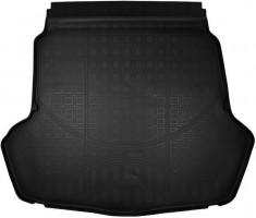 Коврик в багажник для Kia Optima '16-, с докаткой, полиуретановый (NorPlast)