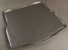Коврик в багажник для Renault Laguna '07-15 хетчбэк, полиуретановый (NorPlast) черный