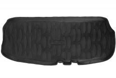 Коврик в багажник для Lada (Ваз) Largus 12- (7 мест, короткий), полиуретановый (Aileron)