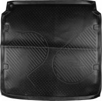 Коврик в багажник для Citroen C4 '13- седан, полиуретановый (Novline / Element) черный