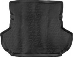 Коврик в багажник для Mitsubishi Outlander XL '07-12 (без сабвуфера), резино/пластиковый (Lada Locker)