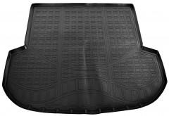 Коврик в багажник для Kia Sorento '15- (5 мест), полиуретановый (NorPlast)