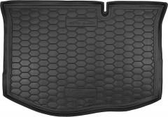 Коврик в багажник для Ford Fiesta '15-17, резиновый (AVTO-Gumm)